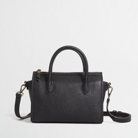 Mini cross-body satchel