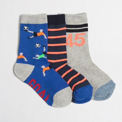 Boys' soccer socks