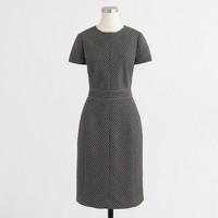 Matrix jacquard dress