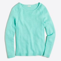 Raglan scoopneck sweater
