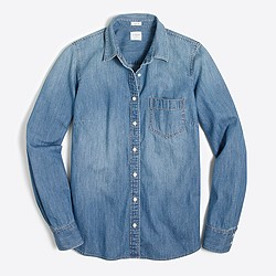 Pocket chambray shirt