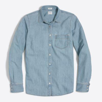 Pocket chambray shirt