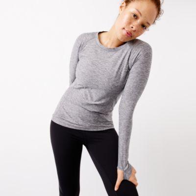 New Balance® for J.Crew in-transit long-sleeve T-shirt factorywomen new balance x j.crew c