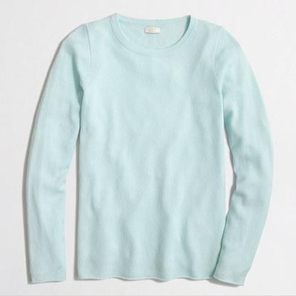 Cashmere long-sleeve T-shirt