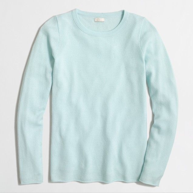Cashmere long-sleeve T-shirt