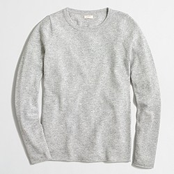 Factory cashmere long-sleeve T-shirt