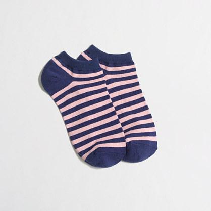 Striped tennis socks