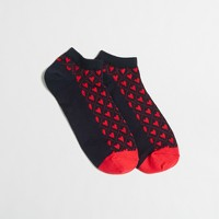 Heart tennis socks