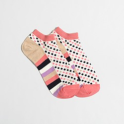 Factory dot tennie socks