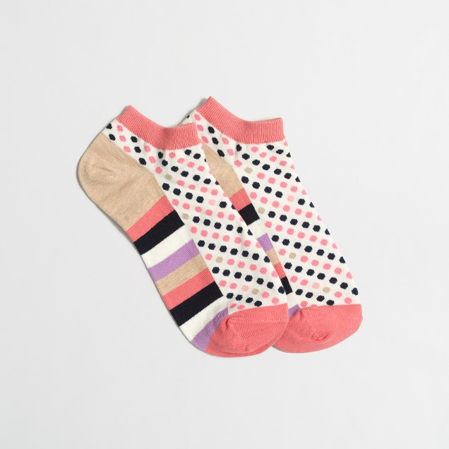 Dot tennis socks