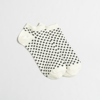 Open dot tennis socks