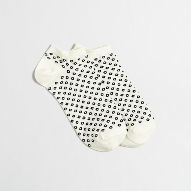 Open dot tennis socks