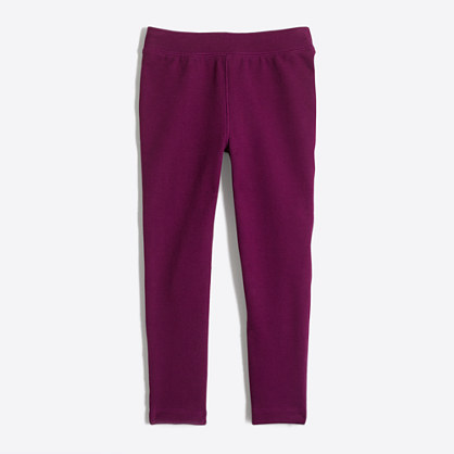 Girls' toasty leggings