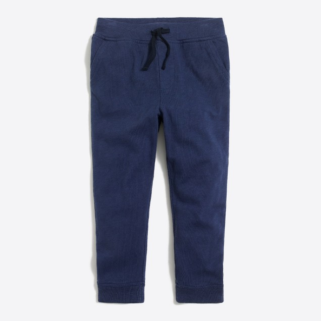 Boys' jersey-lined sweatpant