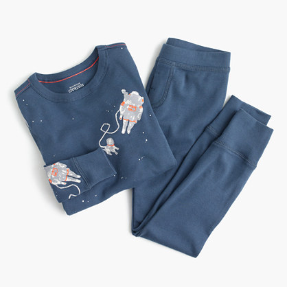 Boys' space mission pajama set