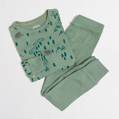 Boys' dinosaurs pajama set