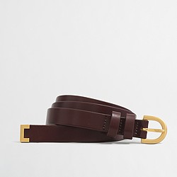 Factory golden tip belt