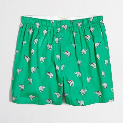 Tipsy elephants boxers