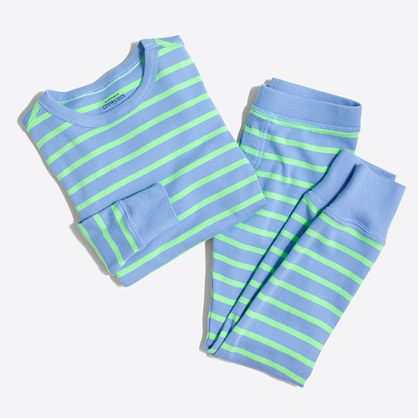 Boys' striped pajama set