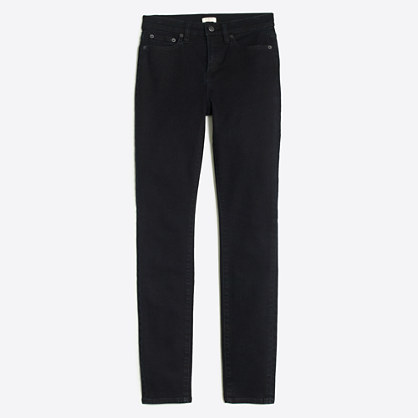 "Shadow wash high-rise skinny jean with 29"" inseam"