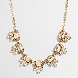 Crystal accent necklace