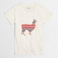 Llama in sweater collector T-shirt