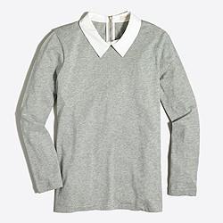 Shirt-collar T-shirt