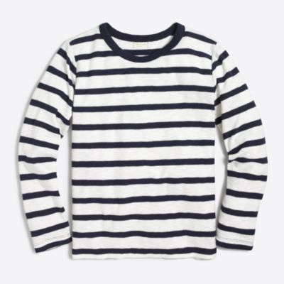 Boys' long-sleeve striped T-shirt factoryboys knits & t-shirts c