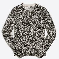 Leopard Caryn cardigan sweater