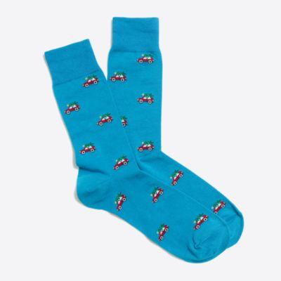 Festive socks