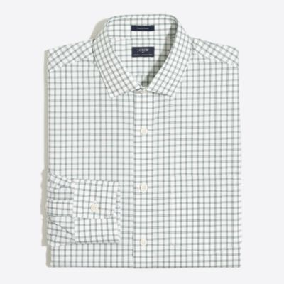 Multi-check flex wrinkle-free Voyager dress shirt   sale