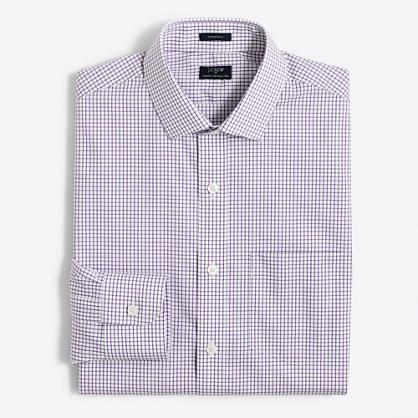 Tattersall flex wrinkle-free Voyager dress shirt