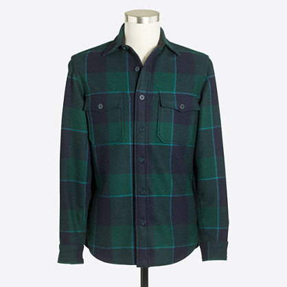 Wool CPO shirt-jacket