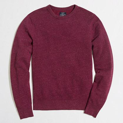 Marled cotton sweatshirt