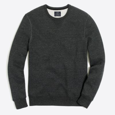 Marled cotton sweatshirt