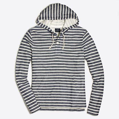 Striped hoodie