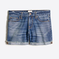 "4"" Lexi wash denim short"