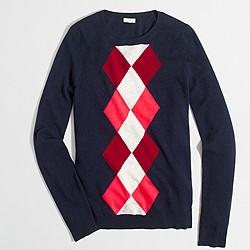 Argyle Teddie sweater