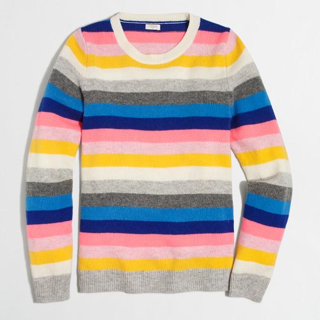 Striped Teddie sweater