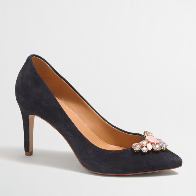 Isabelle jeweled pumps