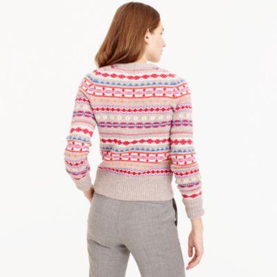 Holly Sweater In Fair Isle : Women's Sweaters   J.Crew