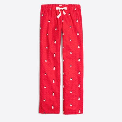 Printed flannel pajama pant   search