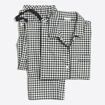 Yarn-dyed flannel pajama set : Pajamas   J.Crew Factory