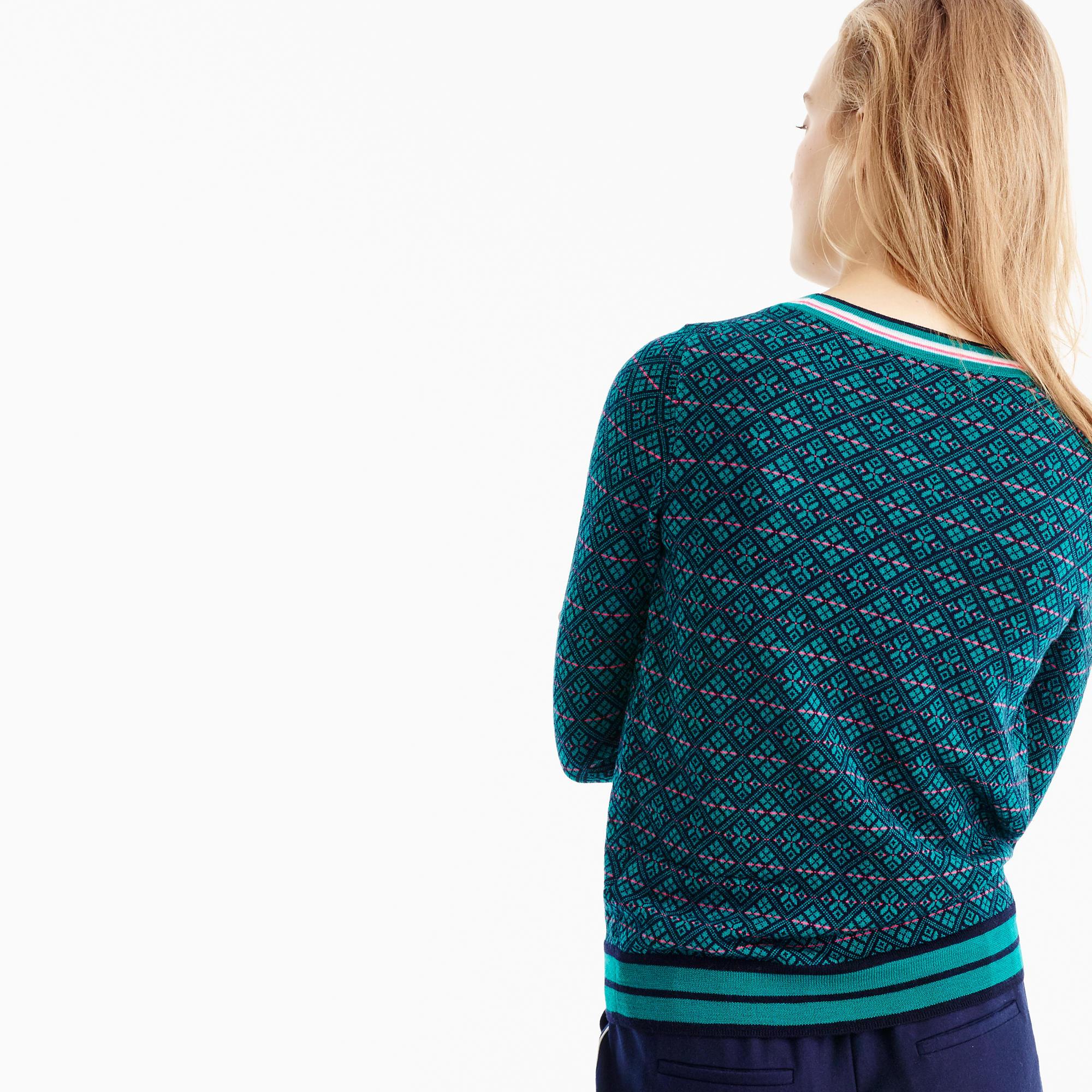 Tippi Sweater In Festive Fair Isle : Women's Sweaters   J.Crew