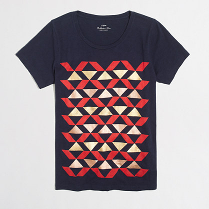 Geometric collector T-shirt