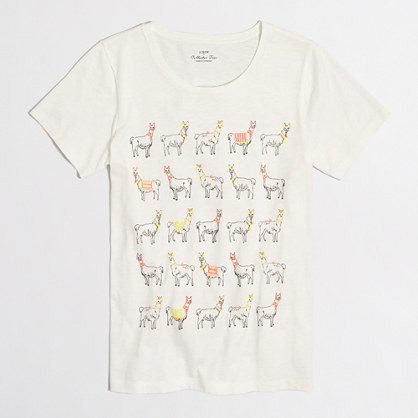 Llama parade collector T-shirt