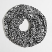 Marled chunky knit infinity scarf