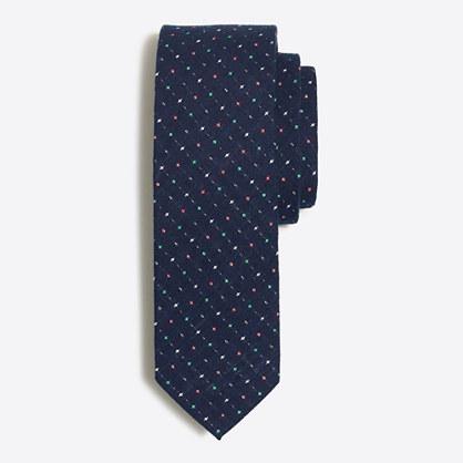 Dobby cotton tie