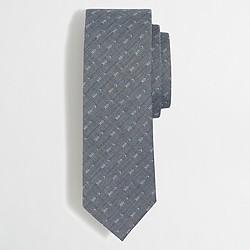Arrow dobby cotton tie