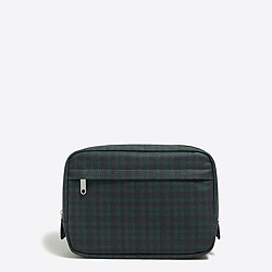 Plaid dopp kit